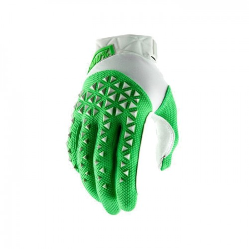 100% - AIRMATIC GLOVE - SILVER FLUO LIME