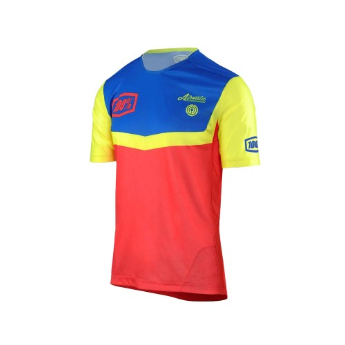 100% - AIRMATIC JERSEY - FAST TIMES RED
