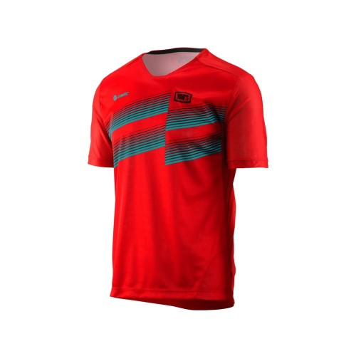 100% - AIRMATIC JERSEY - RED