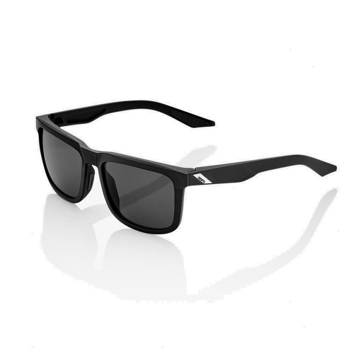 100% - BLAKE - SOFT TACT BLACK SMOKE LENS