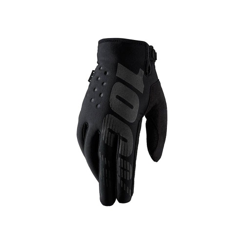 100% - BRISKER - COLD WEATHER GLOVE BLACK