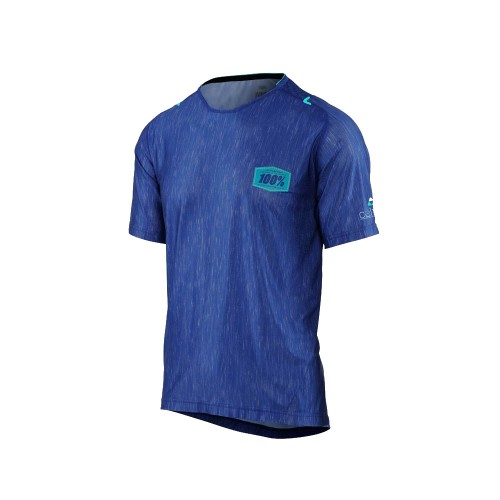 100% - CELIUM JERSEY - BLUE HEATHER