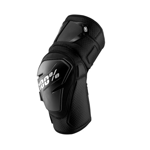 100% - FORTIS KNEE GUARD - BLACK