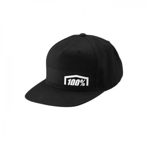 100% - HAT - NEMESIS SNAPBACK HAT BLACK