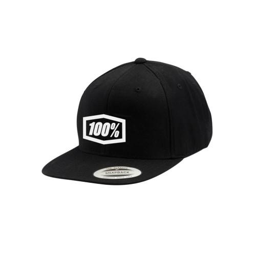 100% - HAT - CORPO CLASSIC BLACK WHITE