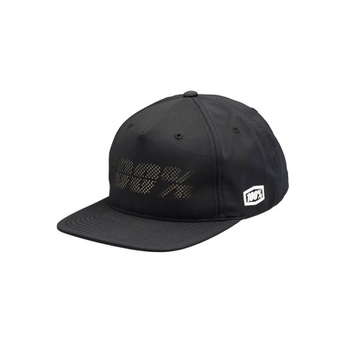 100% - HAT - FRAGMENT SNAPBACK BLACK