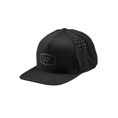 100% - HAT - PALACE SNAPBACK HAT BLACK