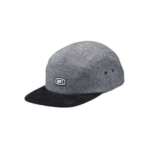 100% - HAT - SCRUB CAMPER CHARCOAL HEATHER