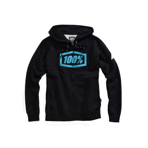100% - FLEECE - SYNDICATE ZIP HOODED SWEATSHIRT - HYPERLOOP