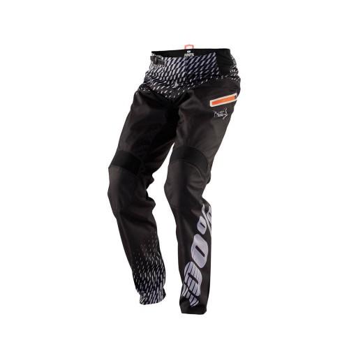 100% - PANTS - R-CORE DH SUPRA BLACK GREY