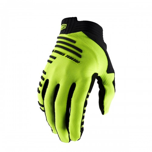 100% - R-CORE GLOVE FLUO YELLOW
