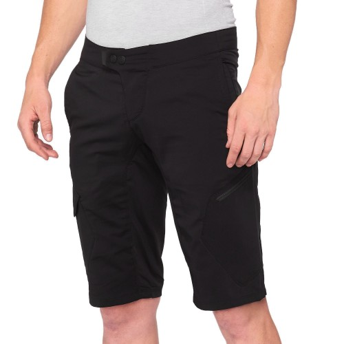 100% - RIDECAMP SHORTS - BLACK