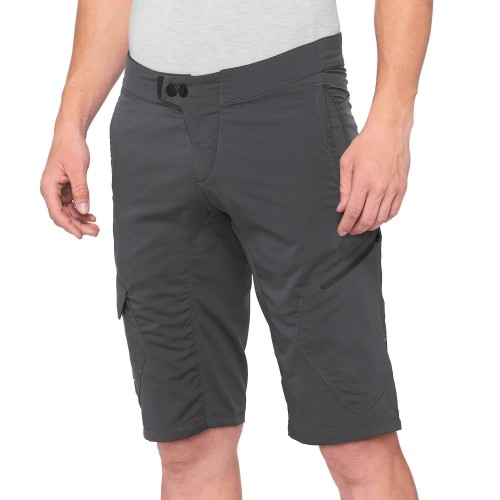 100% - RIDECAMP SHORTS - CHARCOAL