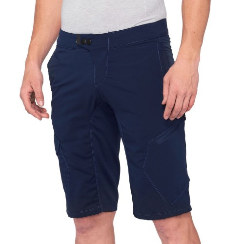 100% - RIDECAMP SHORTS - NAVY