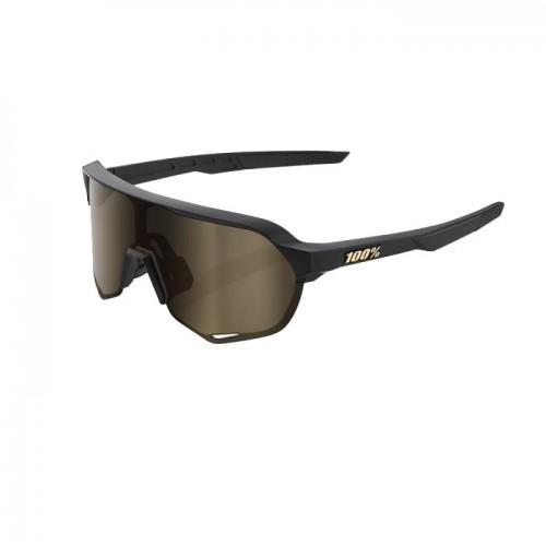 100% - S2 - MATTE BLACK - SOFT GOLD