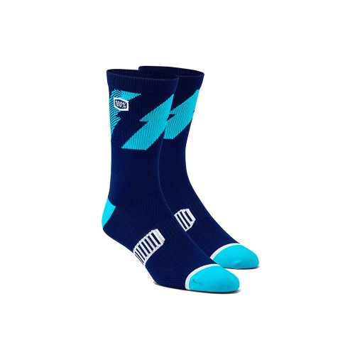 100% - SOCKS - BOLT PERFORMANCE SOCKS - NAVY