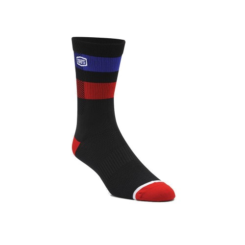 100% - SOCKS - FLOW PERFORMANCE SOCKS - BLACK