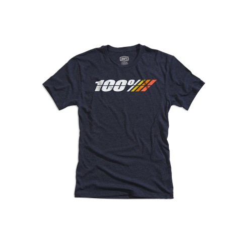 100% - SHIRT - MOTORRAD TECH TEE NAVY HEATHER