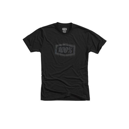 100% - SHIRT - POSITIVE TECH TEE BLACK