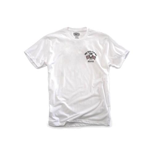 100% - SHIRT - O.S.F.A TSHIRT WHITE