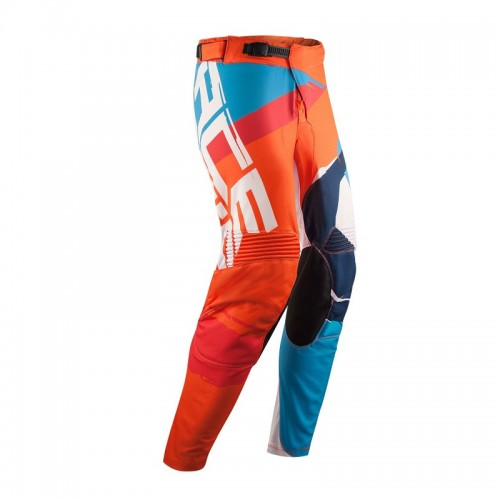 ACERBIS - STORMCHASER SPECIAL EDITION PANTS - ORANGE BLUE