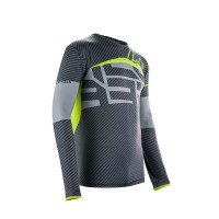 ACERBIS - CARBON FLEX JERSEY - BLACK YELLOW