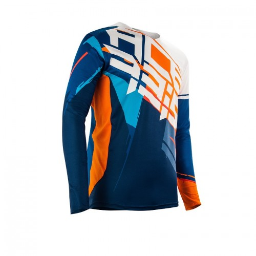 ACERBIS - STORMCHASER SPECIAL EDITION JERSEY - ORANGE BLUE