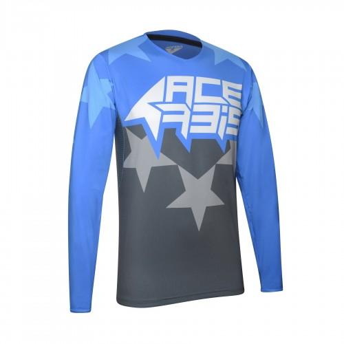ACERBIS - X-FLEX STARCHASER JERSEY - GREY/BLUE