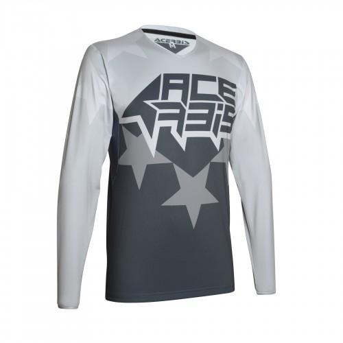 ACERBIS - X-FLEX STARCHASER JERSEY - GREY/GREY