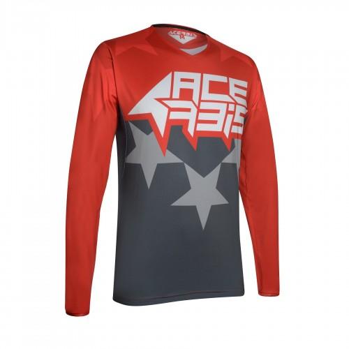 ACERBIS - X-FLEX STARCHASER JERSEY - GREY/RED