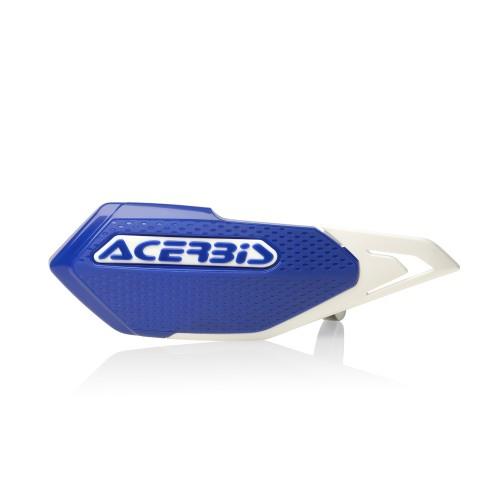 ACERBIS - X-ELITE HANDGUARDS - BLUE / WHITE