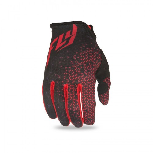 FLY RACING - LITE GLOVES - RED BLACK