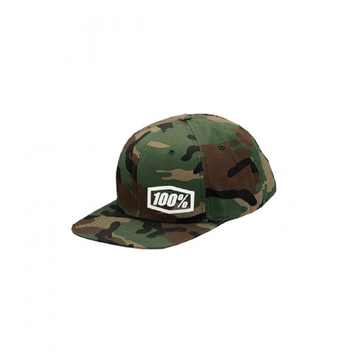 100% - HAT - MACHINE CAMO SNAPBACK CAMO