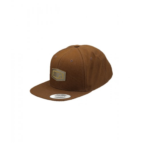 100% - HAT - PASADENA SNAPBACK BROWN