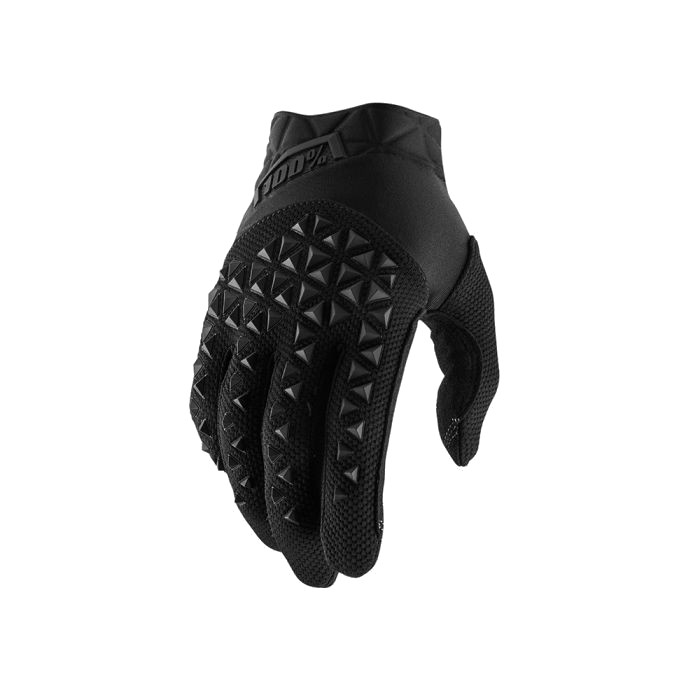100% - AIRMATIC GLOVE - BLACK CHARCOAL