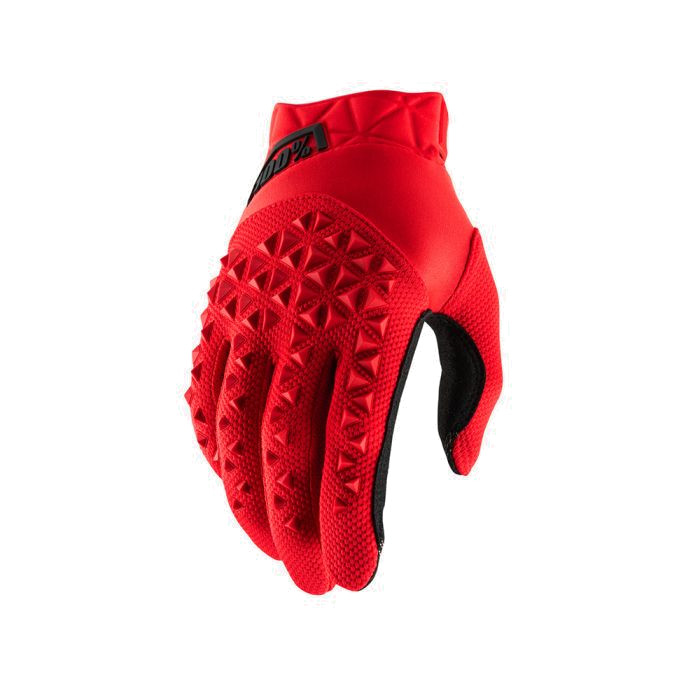 100% - AIRMATIC GLOVE - RED BLACK