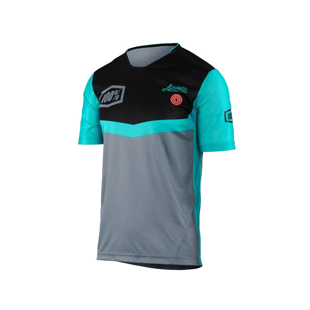 100% - AIRMATIC JERSEY - FAST TIMES GREY