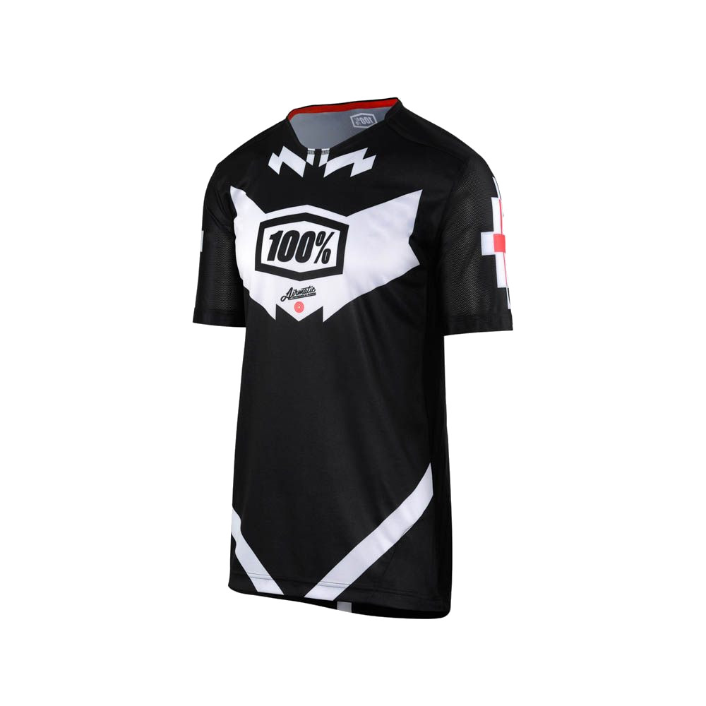 100% - AIRMATIC JERSEY - JEROMINO BLACK