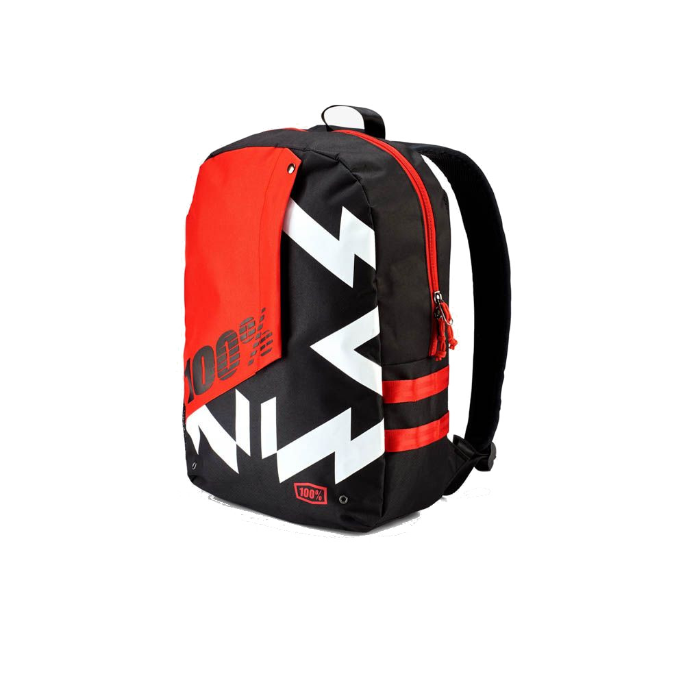 100% - BACKPACK - PORTER JERONIMO BLACK RED