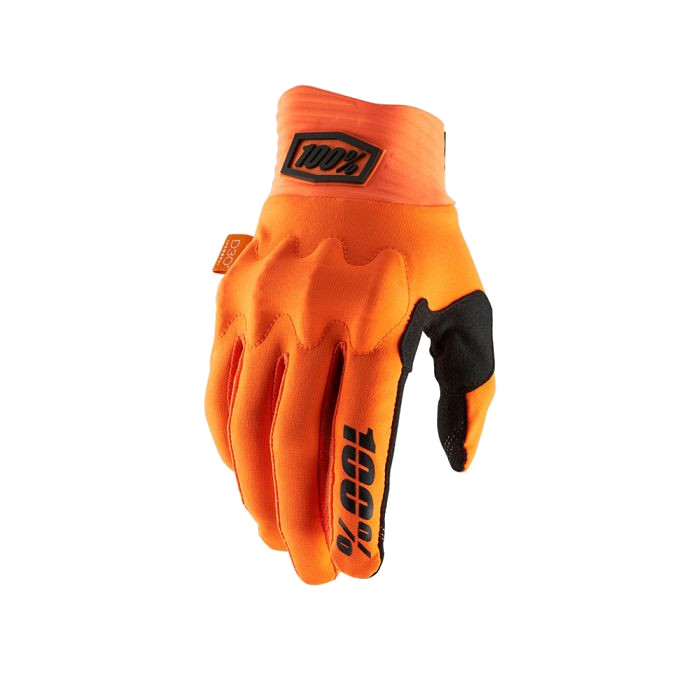 100% - COGNITO GLOVE - FLUO ORANGE BLACK