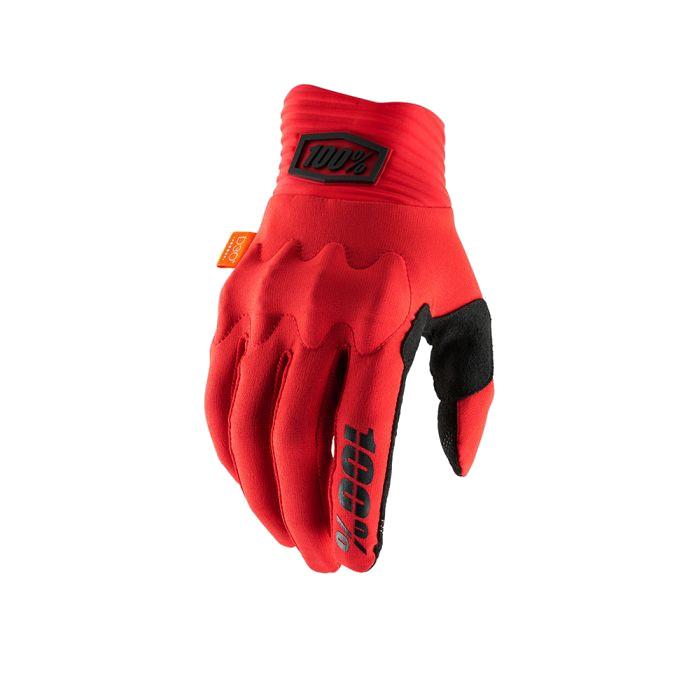 100% - COGNITO GLOVE - RED BLACK
