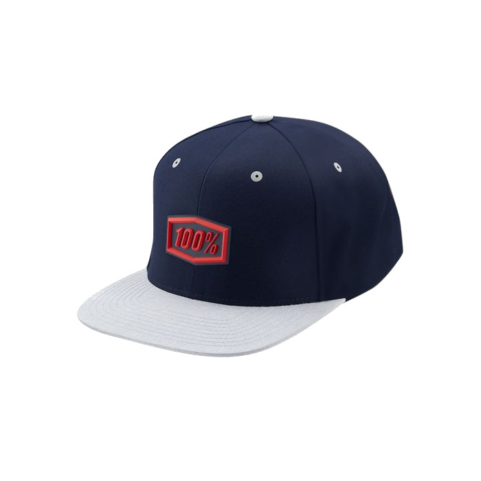 100% - HAT - ENTERPRISE SNAPBACK HAT NAVY