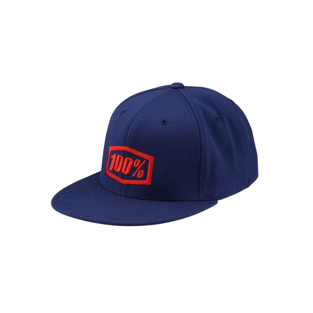 100% - HAT - ESSENTIAL J-FIT FLEXFIT NAVY