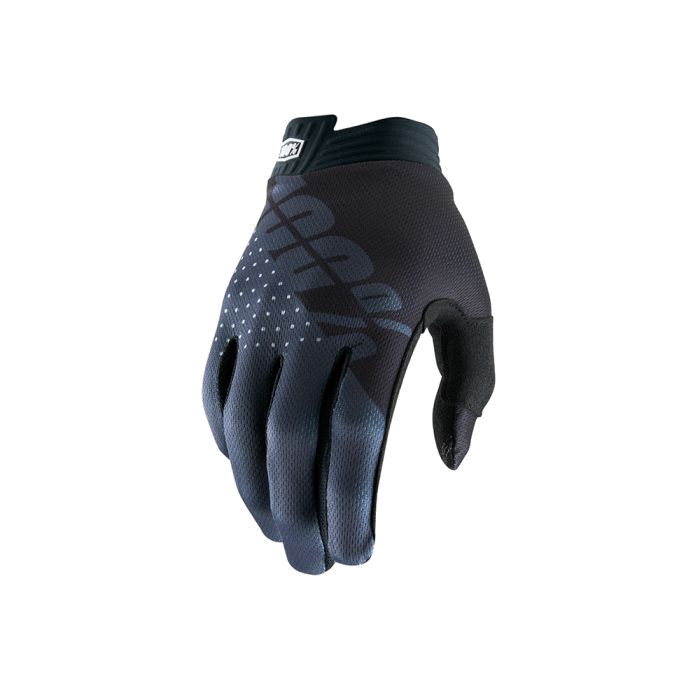 100% - iTRACK GLOVE - BLACK CHARCOAL