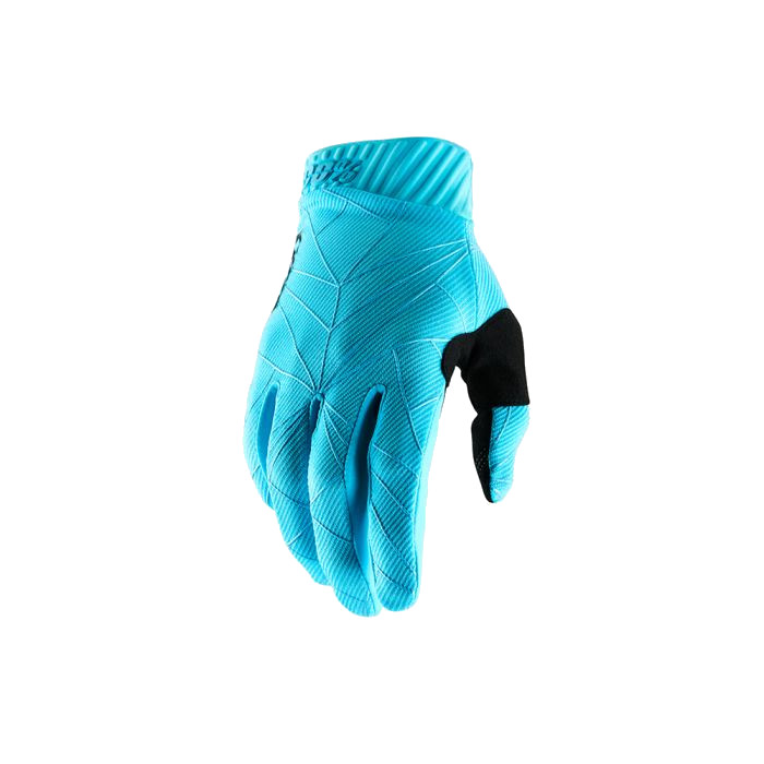 100% - RIDEFIT GLOVE - ICE BLUE BLACK