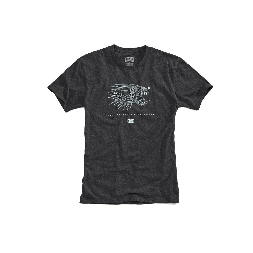 100% - SHIRT - MARDOLL TSHIRT CHARCOAL HEATHER