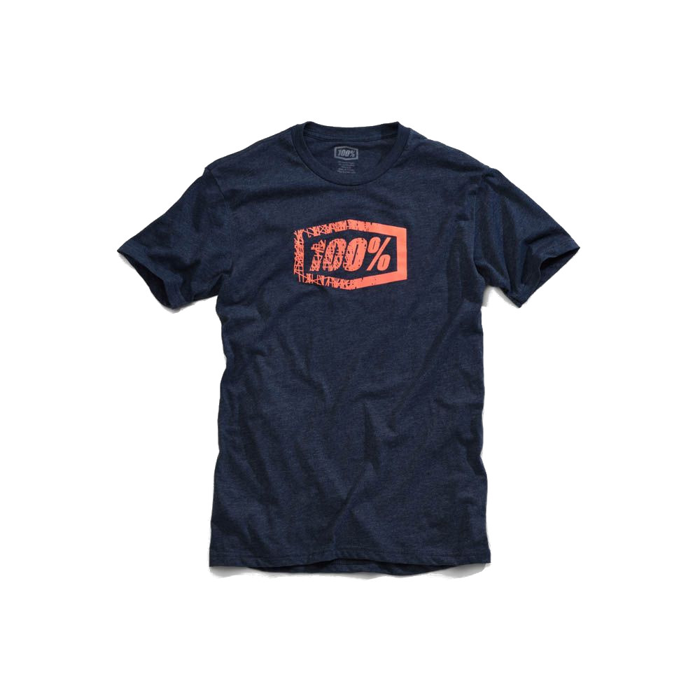 100% - SHIRT - SCRATCH TSHIRT NAVY