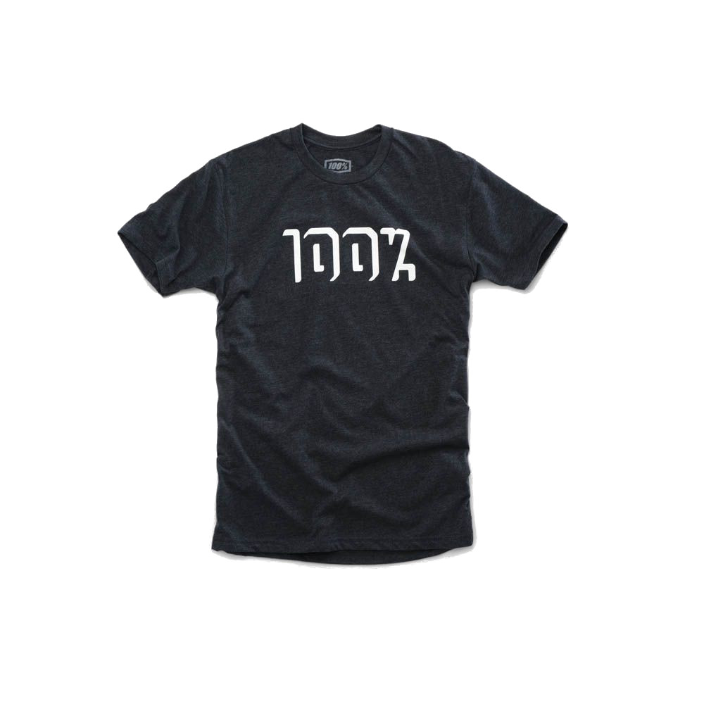 100% - SHIRT - SHADOWBOX TSHIRT CHARCOAL