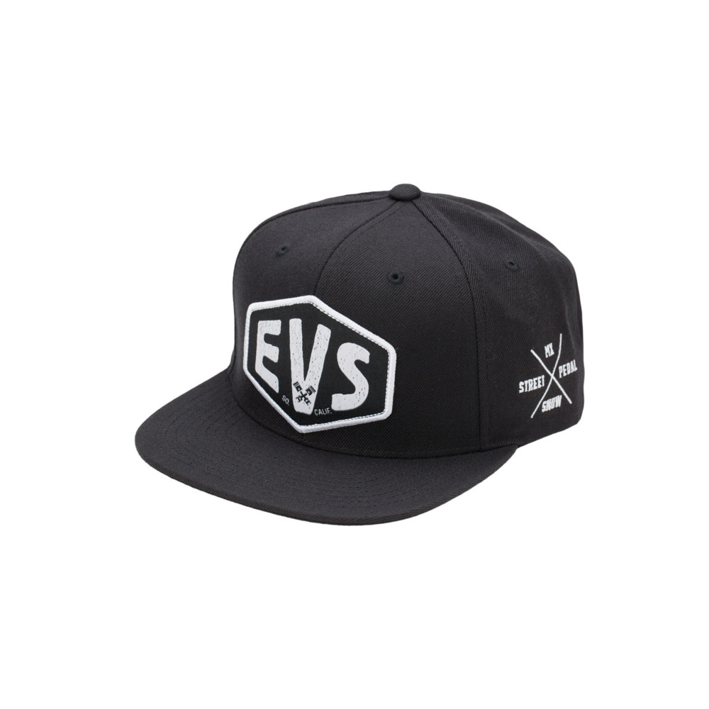 EVS - HAT - MACHINA HAT SNAPBACK BLACK