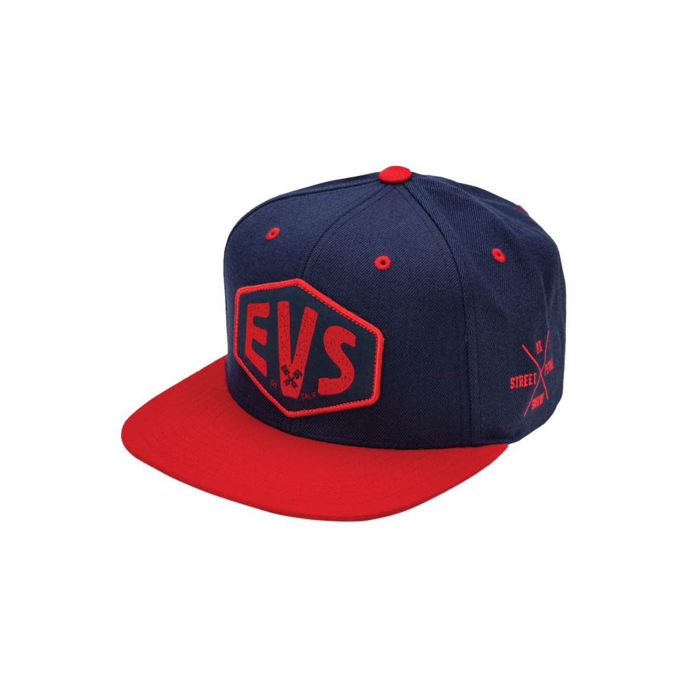 EVS - HAT - MACHINA HAT SNAPBACK BLUE RED